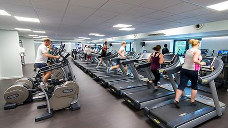 The Impressions Fitness Suites are spacious with the latest fitness equipment