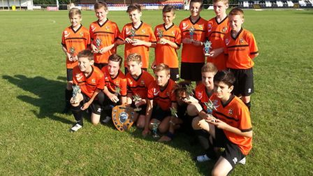 St Ives Rangers Black Sox Under 13s are through to the Hunts Youth League Cup final in their age gro