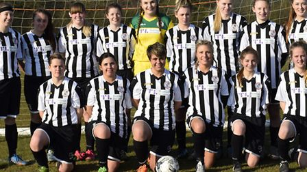 St Ives Town Ladies are chasing promotion. Picture: JEFF CHAPMAN.