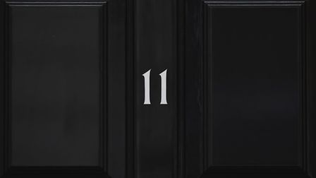11 Downing Street, London, before the Chancellor of the Exchequer George Osborne headed to the House