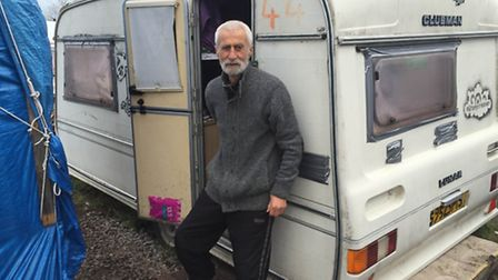 A refugee Benedict met in the Calais Jungle