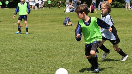 Harpenden Colts in action