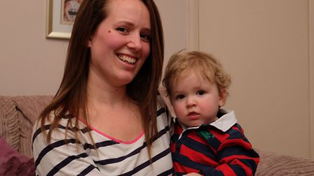 Amanda Smith is organising a first birthday party for her son Rory O'Donnell and using it to raise m