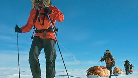 Trekking to the South Pole