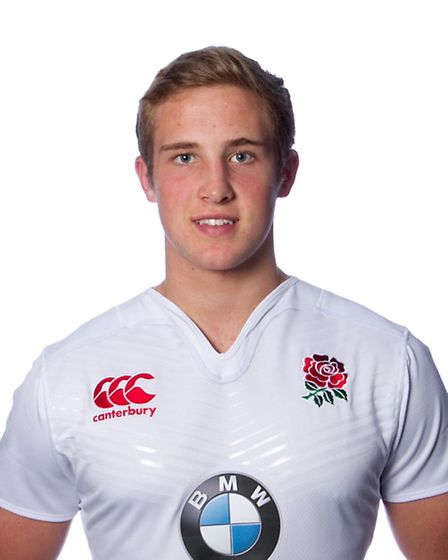 England U20 elite player Max Malins. Picture: ANDY TAYLOR/ATSPORTPHOTO