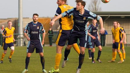 St Neots v Slough - Adam Tann. Picture: CLAIRE HOWES
