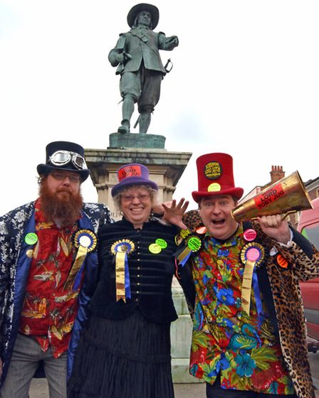 St Ives Town Councillor Deborah Richardson, has become the first ever Eccentric Party of Great Brita