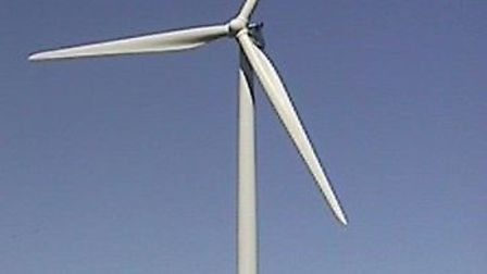 Thrill seekers leapt off of a wind turbine in Ramsey