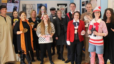 Staff at Meridian dressed up as their favourite literary characters as part of World Book Day.