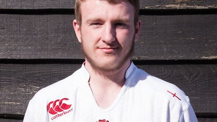 Josh Page, Oaklands College's first deaf student to be part of its rugby academy in St Albans