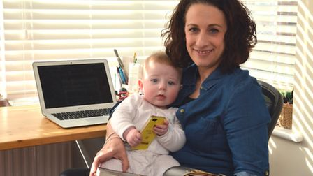 Monique Sveinsson, has set up a business networking group for mums that own their own business based