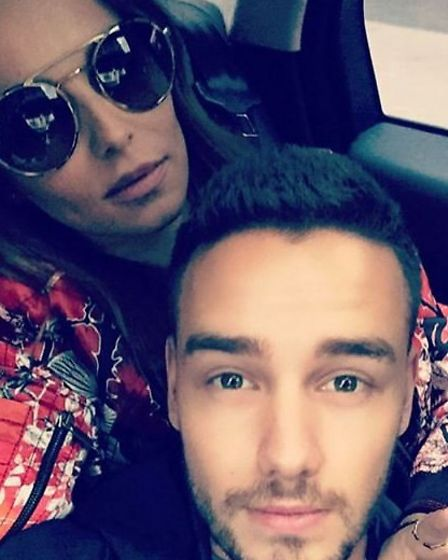 Liam and Cheryl confirmed the rumours of their romance with this selfie last week (Instagram - fake