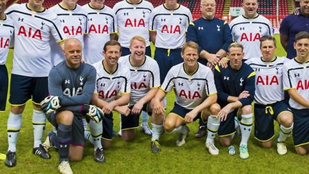 Some of the Spurs legends (pictured) will be playing.