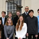 Yasmin Muhtadi (front row far left) will represent young people in St Albans as a member of the Unit