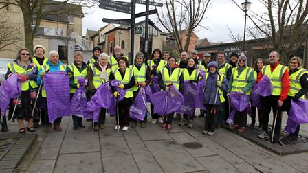 Clean for the Queen in Royston