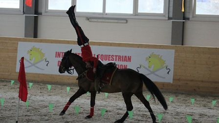 Gymnasts from St Albans are being sought to join a British team of riders in time for the Internatio