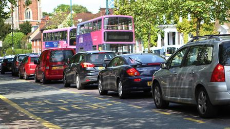 Traffic in St Albans
