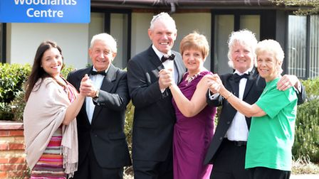 Broughton Ball fundraising committee members which are raising funds for the Macmillan Woodlands Cen