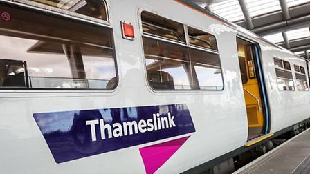 There are delays on the Thameslink line between Luton and London St Pancras this morning (Monday)