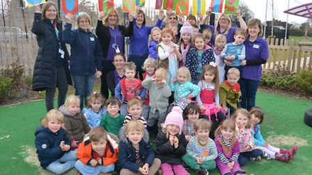 Hemingford Grey Playgroup outstanding Ofsted,