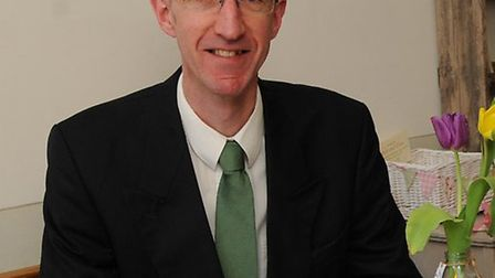 St Albans Green party leader, Cllr Simon Grover.
