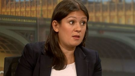 Shadow foreign secretary Lisa Nandy in a former TV appearance