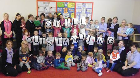 The Barn Nursery, Brampton, receive their outstanding Ofsted report,