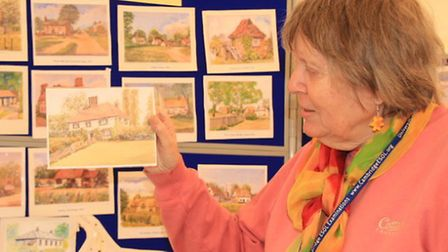 Local archivist of the Thriplow Society, Shirley Withering, has amassed no less than 40 historical c