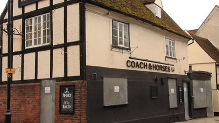 The owners insist the Coach and Horses is only temporarily closed. PICTURE: Clive Porter.
