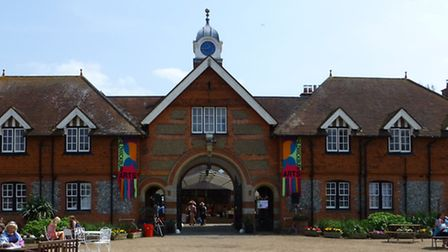 The annual Childwickbury Arts Fair (pictured here in 2014) is held at the former home of famous film