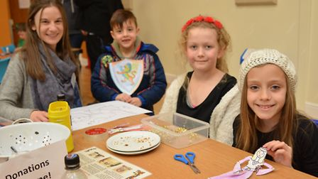 Norris Museum Easter fun for childrens half term, and Medieval Wool Fair, at St Ives Corn Exchange,