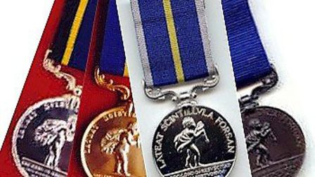 Royal Humane Society medals