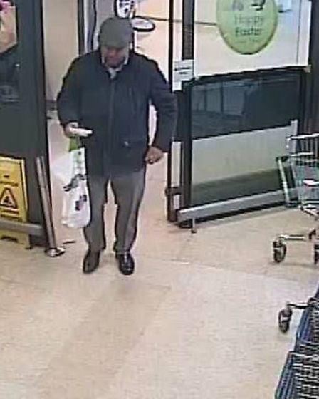Police would like to speak to these men in connection with incidents of theft in Huntingdon.