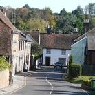 Picturesque streets wind through the village of Markyate