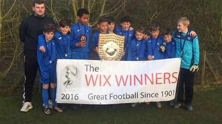 Fleetville won the Junior Wix Cup for the first time since 1930