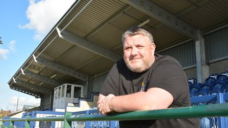 St Neots interim manager Andy Davies. Picture: HELEN DRAKE