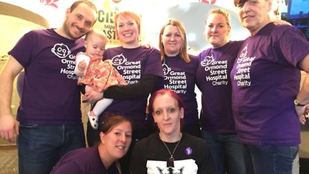 A family fun day was held at London Colney to raise vital funds for Great Ormond Street Hospital