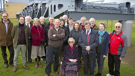 IWM Duxford celebrated the donation of the Whale, a floating roadway section from Mulberry Harbour B