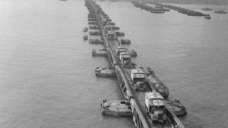 Mulberry Harbour. Picture: IWM