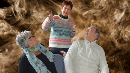 Ruth Madoc and Debby Connor and Steve Wilks