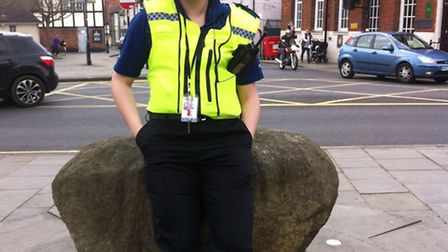 Robyn has become Royston's latest PCSO.