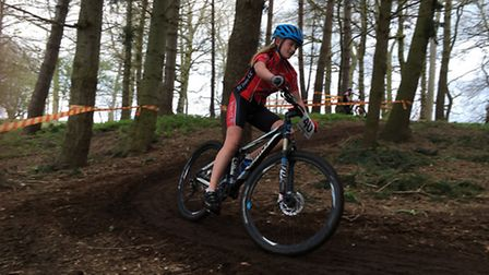 Bea Pauley of St Ives Cycling Club.