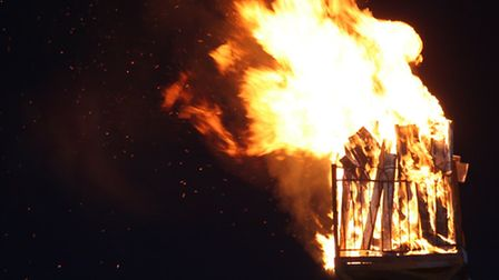 A giant beacon will be lit at the Alban Arena
