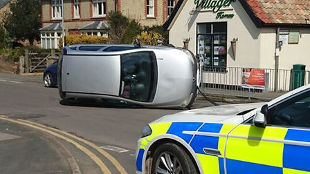 Police attended the incident in Brampton's High Street,