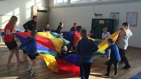 Easter fun at Melbourn Sports Centre