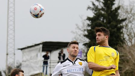 Michael Thalassitis scored a late winner against Maidenhead. Picture: LEIGH PAGE