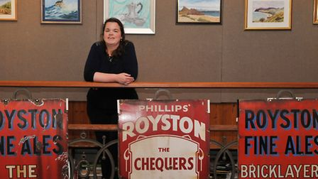 Royston museum curator Jenny Oxley.