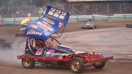 Huntingdon racer Guy Jolly in action in the second round of the V8 Hotstox Series at Coventry. Pictu