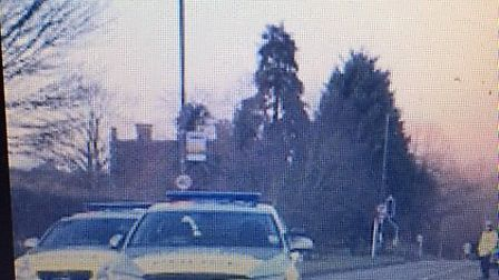 An investigation has been launched following the collision in St Albans