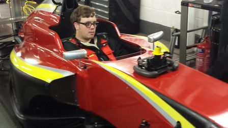 Alex Jones from Radlett had a frustrating opening weekend in the Formula Vee championship